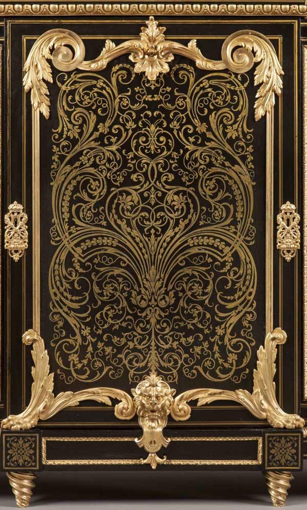 Boulle-Side-Cabinet-door-panel